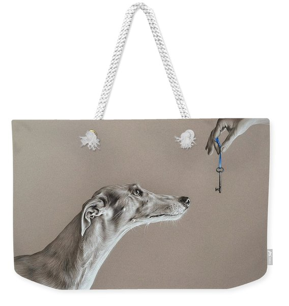 The Key Of Sincerity Weekender Tote Bag