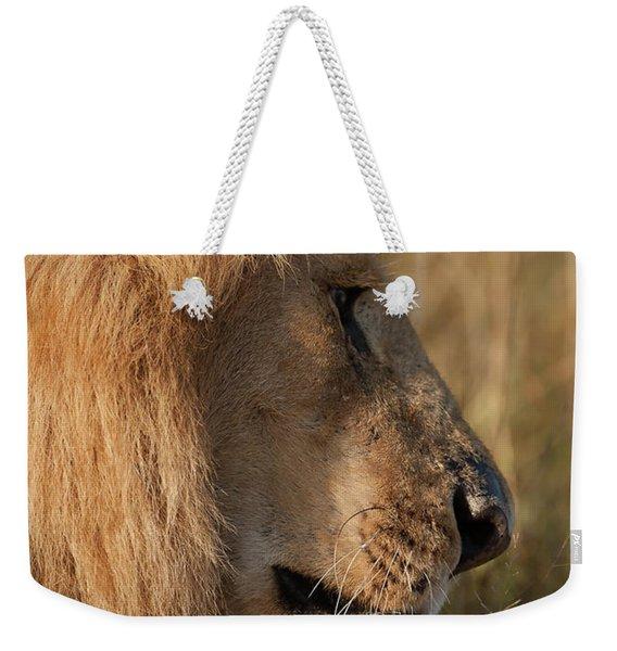 The King Weekender Tote Bag