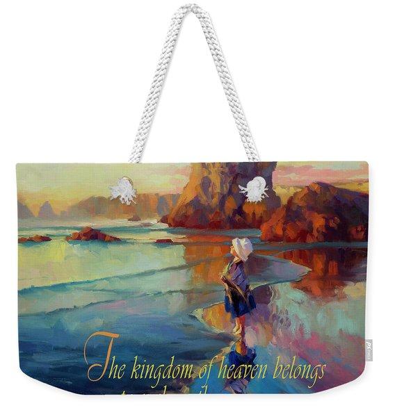 The Kingdom Belongs To These Weekender Tote Bag