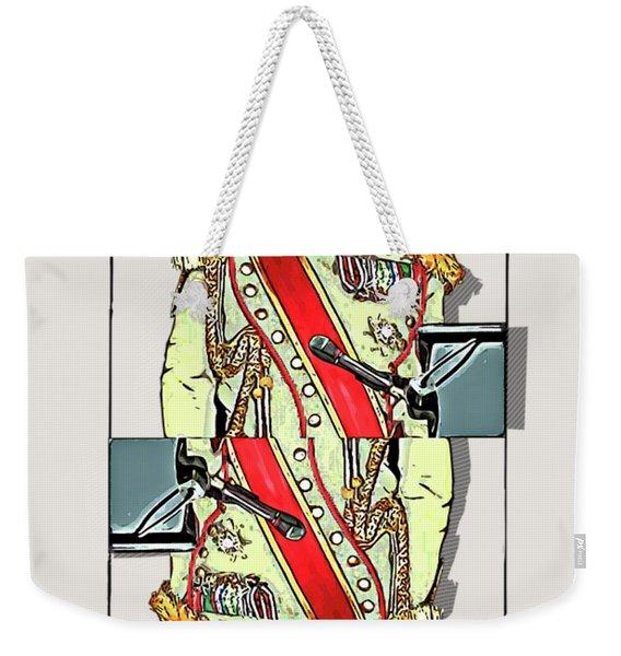 The Kings - Elton John Weekender Tote Bag