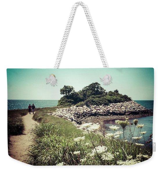 The Knob Looking Ahead Weekender Tote Bag