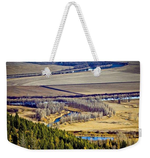 The Kootenai Valley Weekender Tote Bag