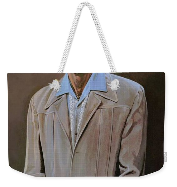 The Kramer Portrait  Weekender Tote Bag