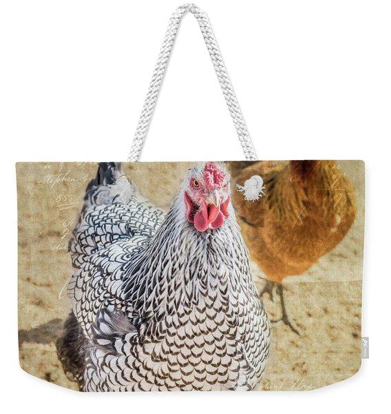The Ladies Weekender Tote Bag