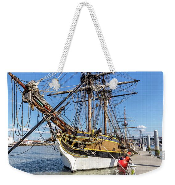 The Lady Washington Weekender Tote Bag