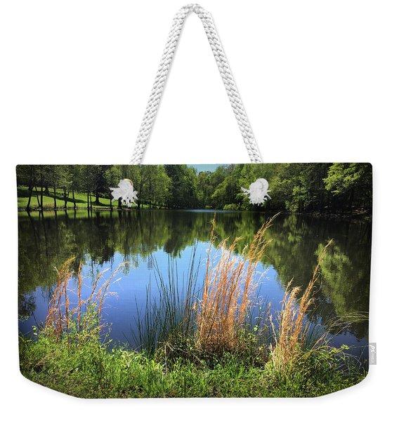 The Lake At Musgrove Mill Weekender Tote Bag