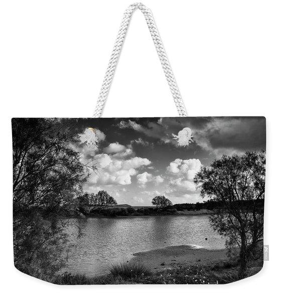 The Lake Close To The Sea Weekender Tote Bag