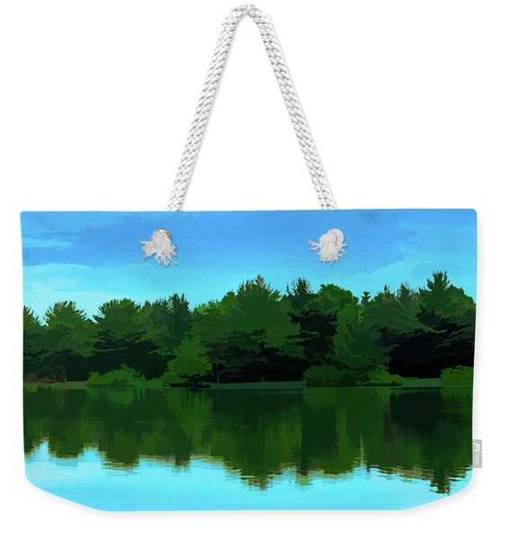 The Lake - Impressionism Weekender Tote Bag
