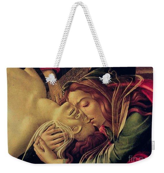 The Lamentation Of Christ Weekender Tote Bag