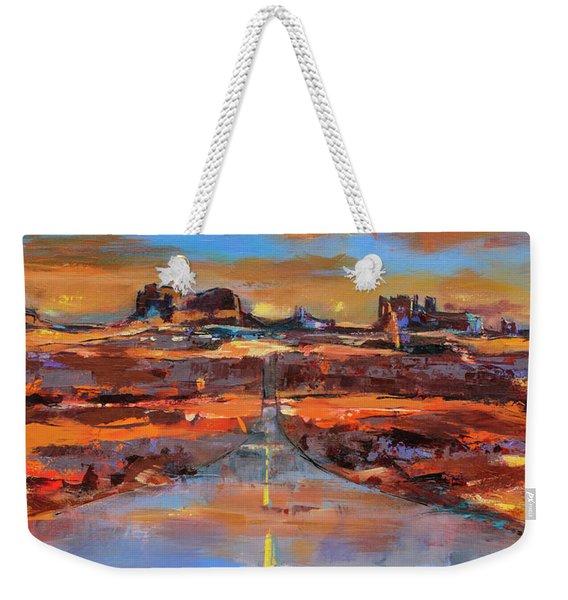 The Land Of Rock Towers Weekender Tote Bag
