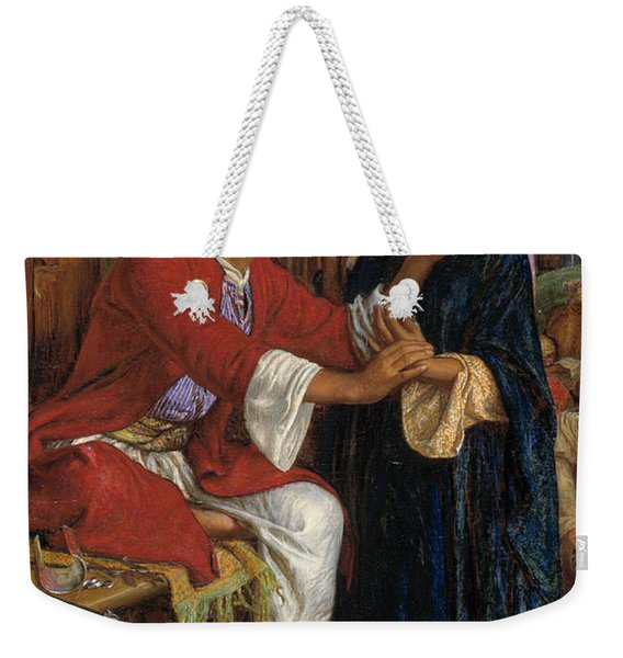 The Lantern Maker's Courtship, A Street Scene In Cairo  Weekender Tote Bag