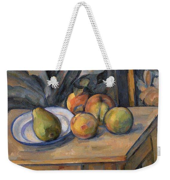 The Large Pear Weekender Tote Bag