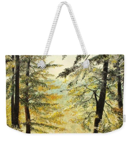 The Last Hill Weekender Tote Bag