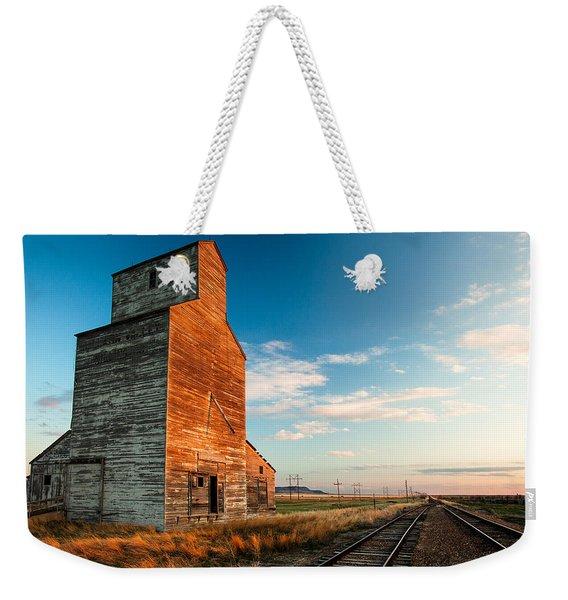 The Last Light At Laredo Weekender Tote Bag