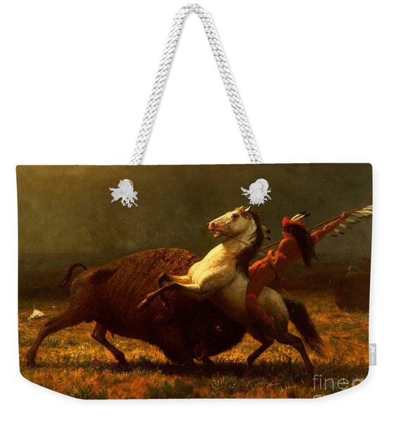 The Last Of The Buffalo Weekender Tote Bag