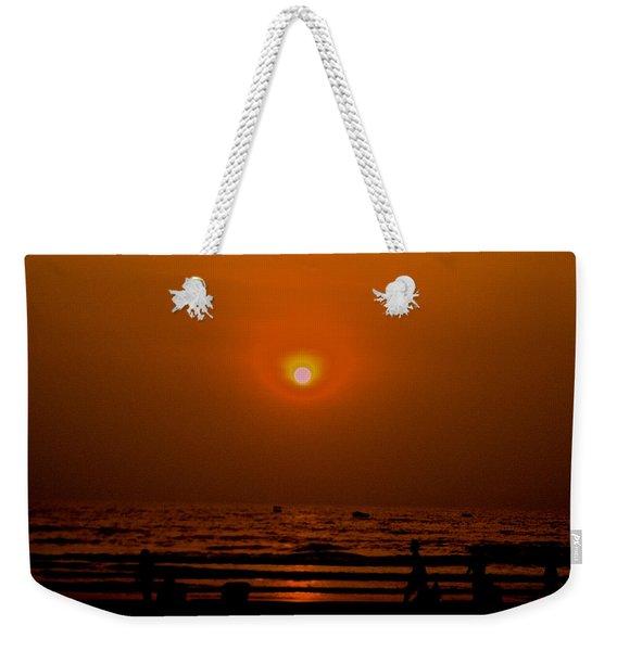 The Last Rays Weekender Tote Bag