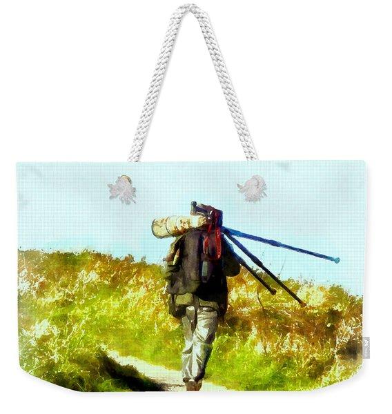 The Last Shot Weekender Tote Bag