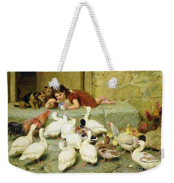 The Last Spoonful Weekender Tote Bag