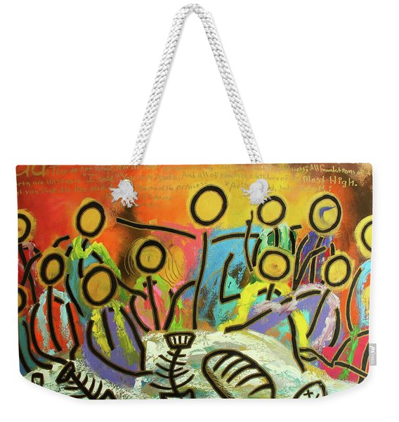 The Last Supper Recitation Weekender Tote Bag
