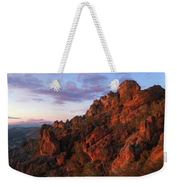 The Late Show Weekender Tote Bag