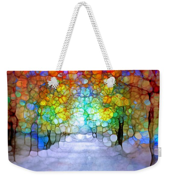The Laughing Forest Weekender Tote Bag