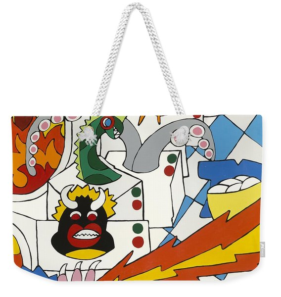 The Laundry Mat Weekender Tote Bag