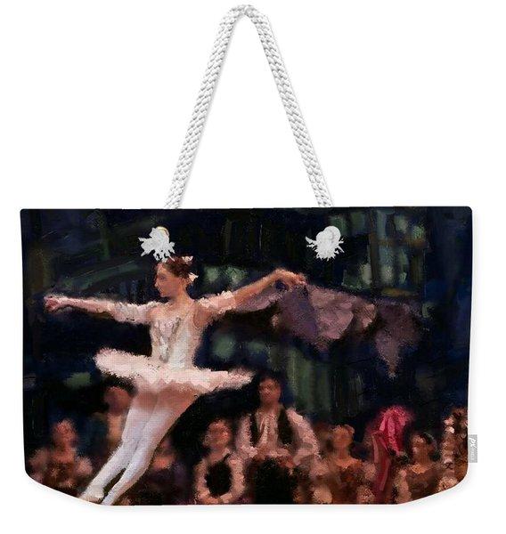 The Leap Weekender Tote Bag