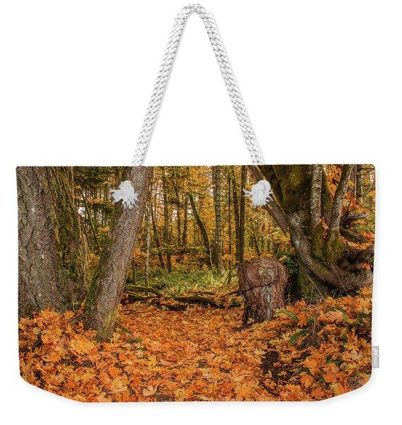 The Leaves Have Fallen Weekender Tote Bag