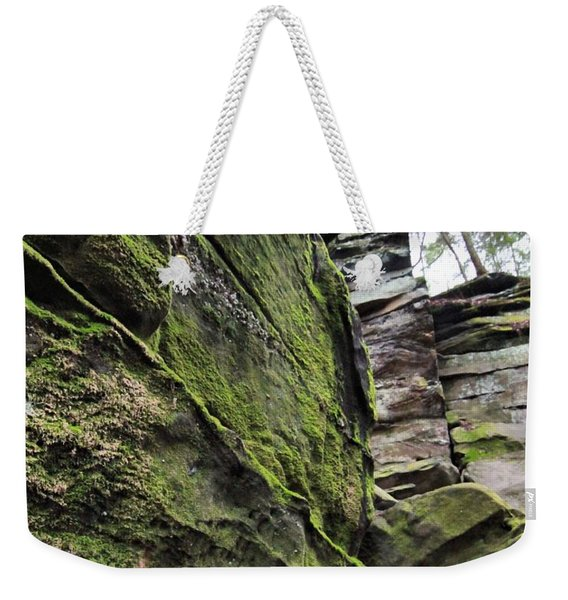 The Ledges In Cuyahoga Valley National Park Weekender Tote Bag
