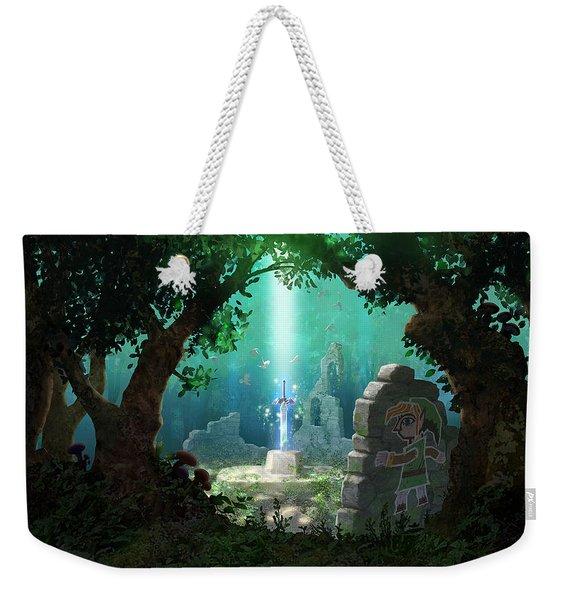 The Legend Of Zelda A Link Between Worlds Weekender Tote Bag