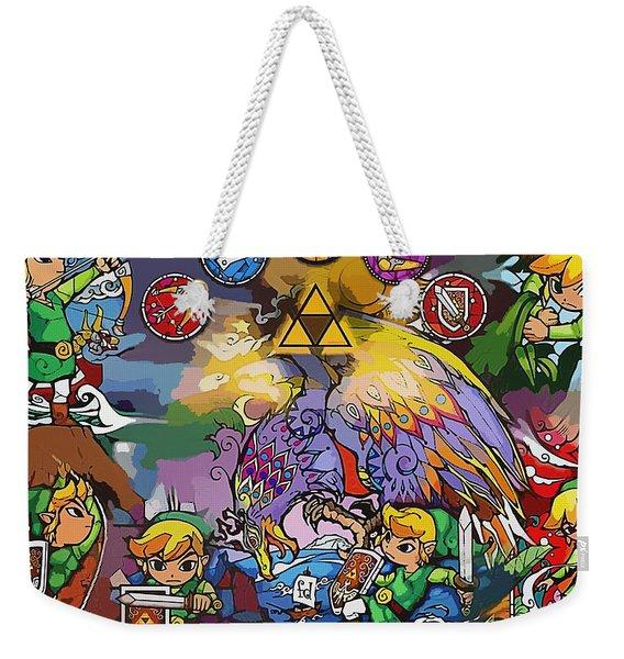 The Legend Of Zelda The Wind Waker Weekender Tote Bag