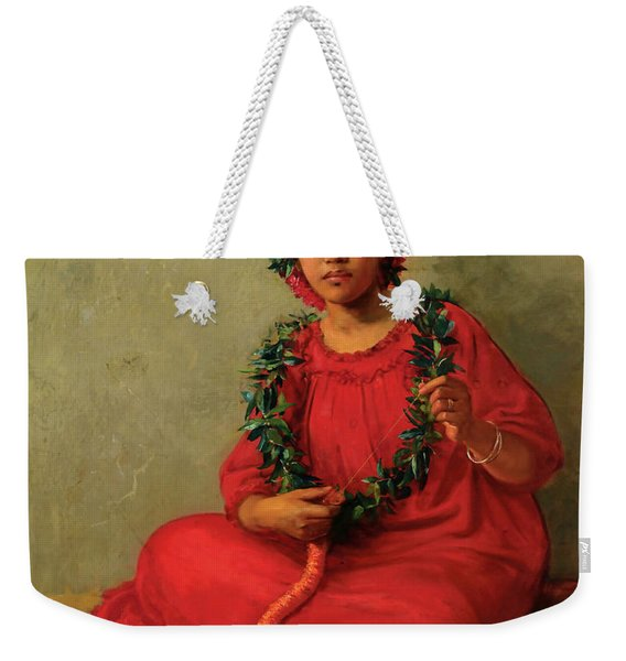 The Lei Maker Weekender Tote Bag