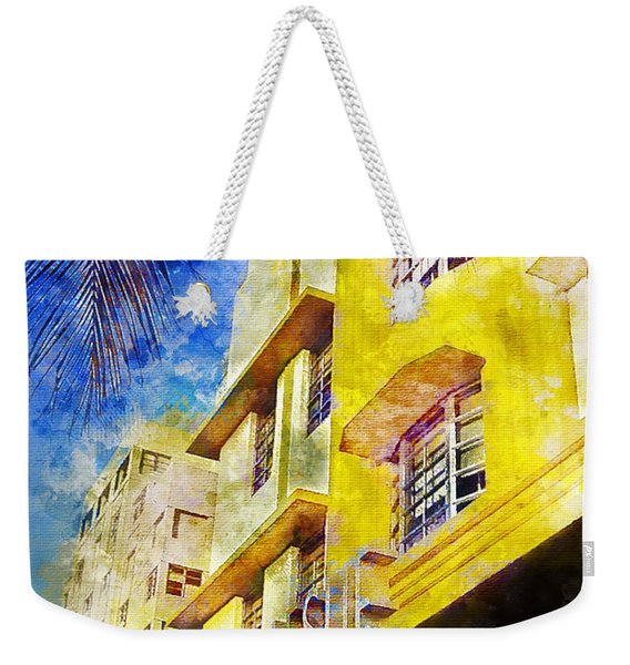 The Leslie Hotel South Beach Weekender Tote Bag