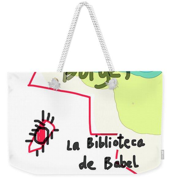 The Library Of Babel  Weekender Tote Bag