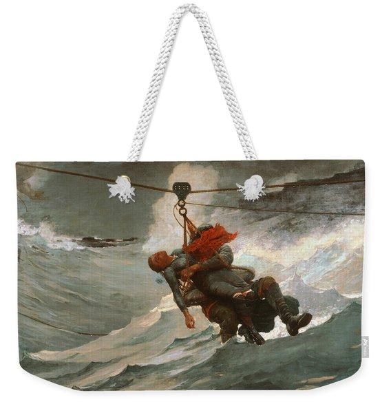 The Life Line Weekender Tote Bag