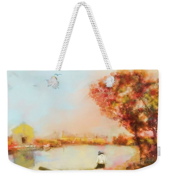 The Life Of A Fisherman Weekender Tote Bag