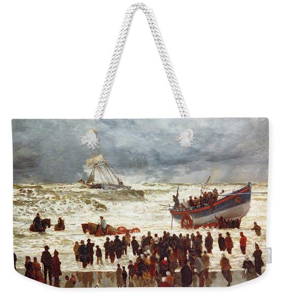 The Lifeboat Weekender Tote Bag