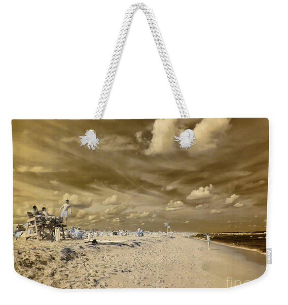 The Lifeguard Stand Weekender Tote Bag