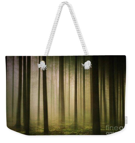 The Light In The Woods Weekender Tote Bag