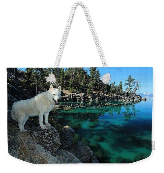The Light Of Lake Tahoe Weekender Tote Bag