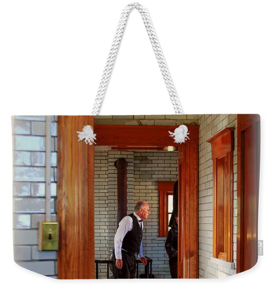 The Lighthouse Keeper Weekender Tote Bag