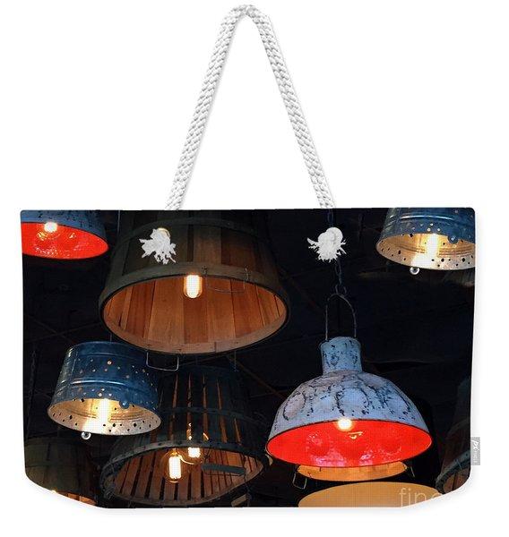 The Lights Above Weekender Tote Bag