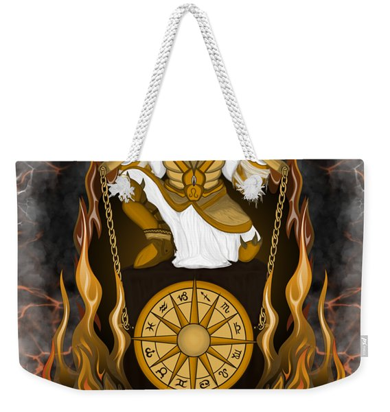 The Lion Leo Spirit Weekender Tote Bag