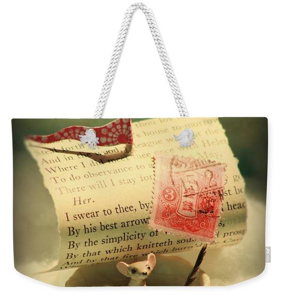 The Little Dreamer Weekender Tote Bag