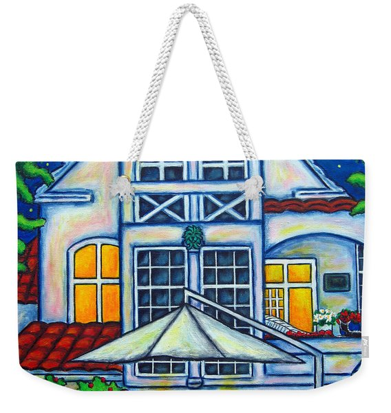 The Little Festive Danish House Weekender Tote Bag