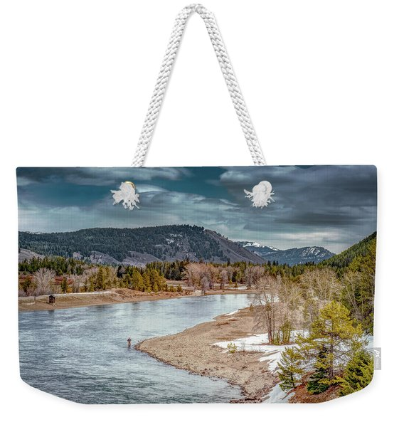 The Little Fisherman Weekender Tote Bag
