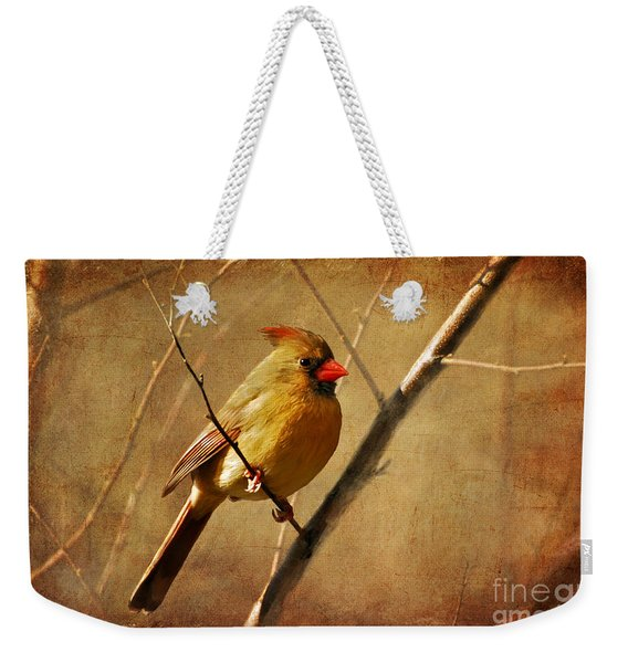 The Little Mrs. Weekender Tote Bag