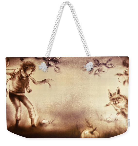 The Little Prince And The Fox Weekender Tote Bag