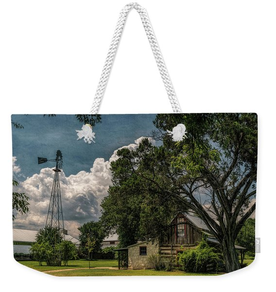 The Little Winery In Stonewall Weekender Tote Bag