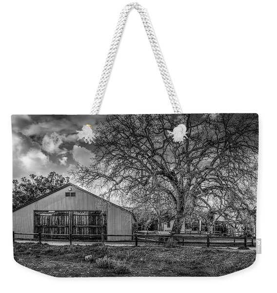 The Livery Stable And Oak Weekender Tote Bag